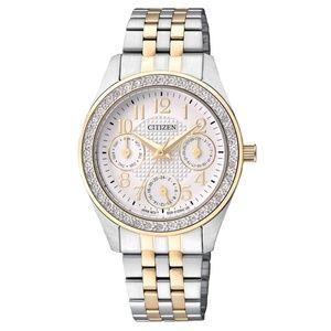 Citizen Silver Gold Wilson Watch